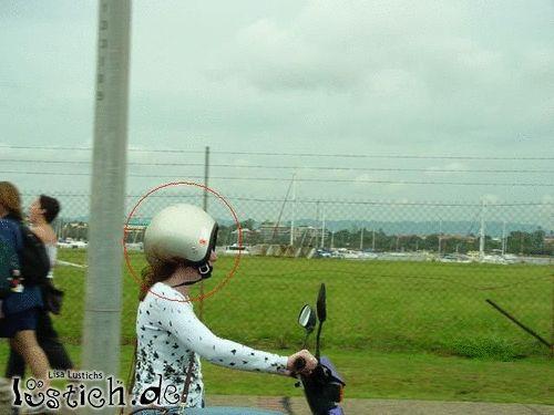 Helm richtig benutzen