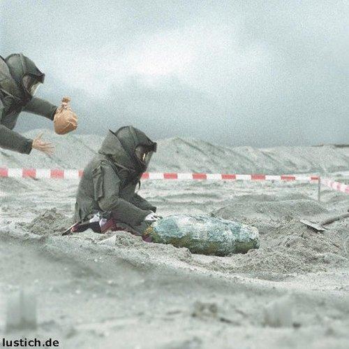 Bombe Entschärfen