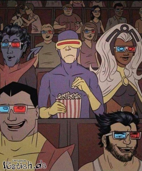 Blöde 3D-Filme