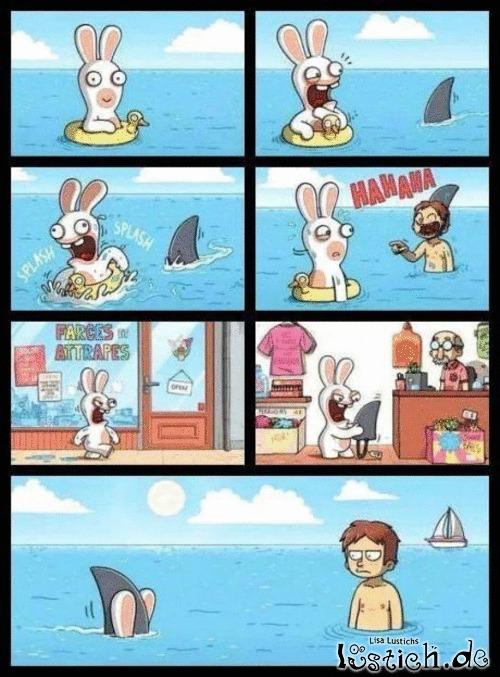 Der Hai-Scherz Bild - Lustichde-7645
