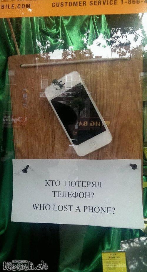 iPhone gefunden