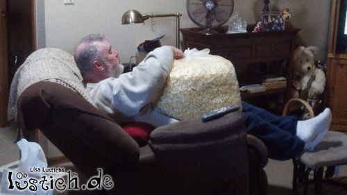 Kleine Portion Popcorn