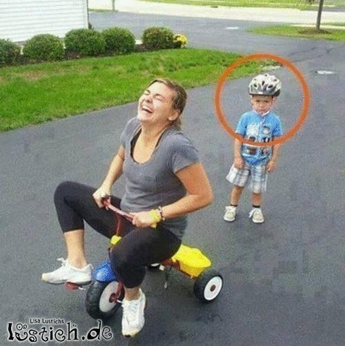 Das ist mein Rad!