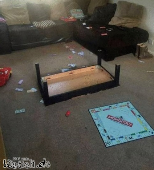 Wie Monopoly endet