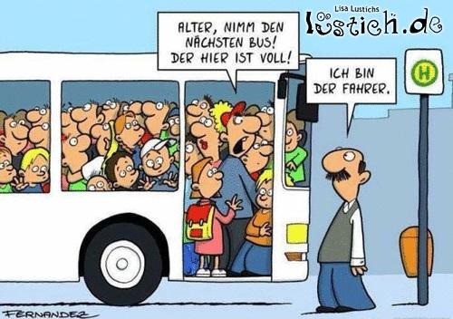 Lustige Bus Bilder