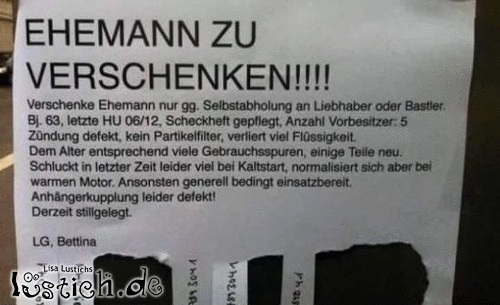 Ehemann Bild - lustich.de
