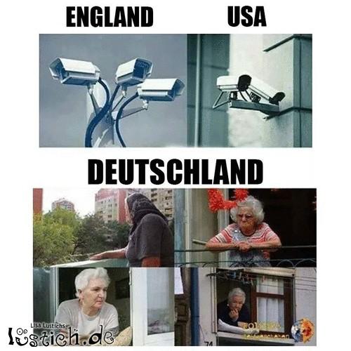 England, USA und Deutschland im Vergleich
