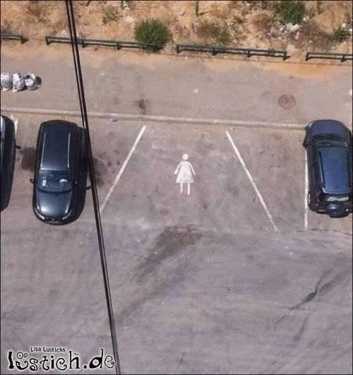 Idiotenparkplatz