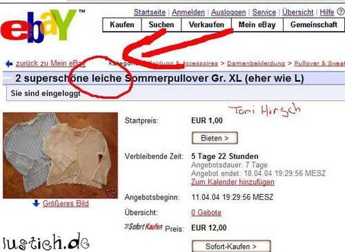 Ebay kleidung sofort kaufen