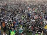 Viele Fahrräder