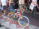 Kunterbuntes Fahrrad