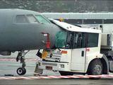 Unfall auf dem Flughafen