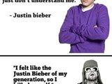 Justin Bieber und Kurt Cobain