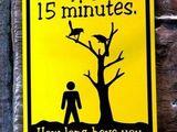 Warnung vor Vogelscheiße