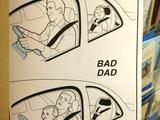 Guter Vater und schlechter Vater
