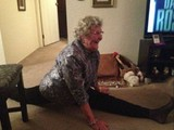 Oma hat es drauf