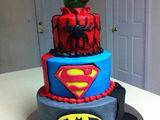Superhelden Kuchen