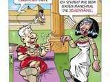 Kleopatra-Cartoon