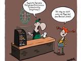 Pippi bei Starbucks