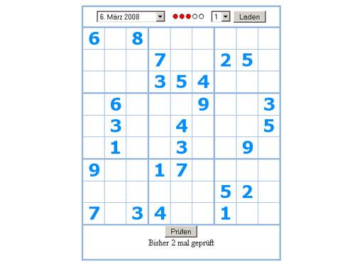 Sudoku Aktuell De Online