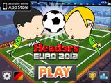 Kopfballspiel Euro 2012