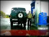 Spaß an der Tankstelle